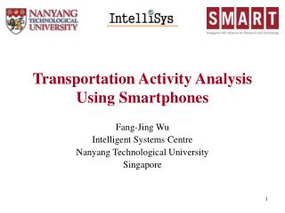 Transportation Activity Analysis Using Smartphones