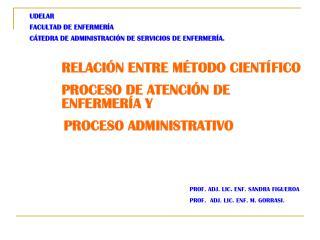 UDELAR FACULTAD DE ENFERMERÍA CÁTEDRA DE ADMINISTRACIÓN DE SERVICIOS DE ENFERMERÍA.