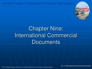 Chapter Nine: International Commercial Documents