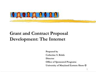 Grant and Contract Proposal Development: The Internet