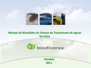 Manejo de  Biosólidos  de Plantas de Tratamiento de Aguas Servidas
