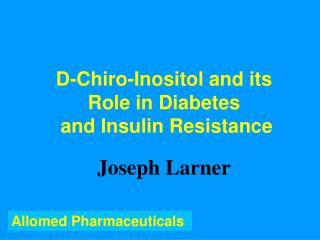 Allomed Pharmaceuticals