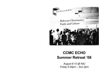CCMC ECHO