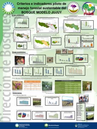 Criterios e indicadores piloto de  manejo forestal sustentable del  BOSQUE MODELO JUJUY