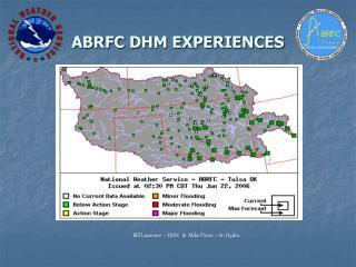 ABRFC DHM EXPERIENCES
