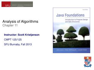 Analysis of Algorithms  Chapter 11