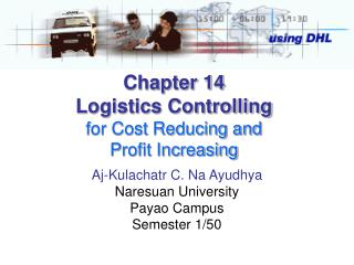 Chapter 14 Logistics Controlling for Cost Reducing and  Profit Increasing