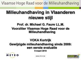 Milieuhandhaving in Vlaanderen nieuwe stijl