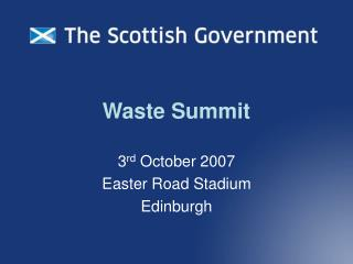 Waste Summit