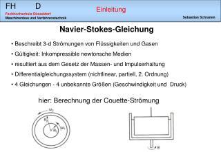 Navier-Stokes-Gleichung