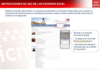 INSTRUCCIONES DE USO DE LOS FICHEROS EXCEL