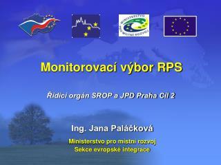 Monitorovací výbor RPS