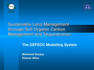 Sustainable Land Management through Soil Organic Carbon Management and Sequestration