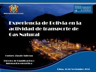 Lima, 12 de Noviembre 2012