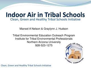 Indoor Air in Tribal Schools