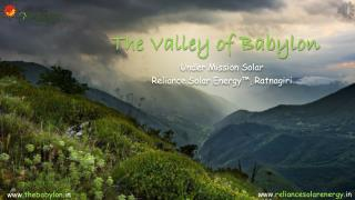 The Valley of Babylon