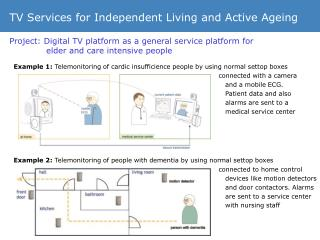 TV Services for Independent Living and Active Ageing