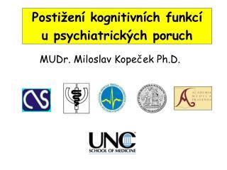 Postižení kognitivních funkcí u psychiatrických poruch