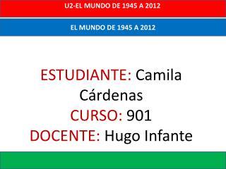 EL MUNDO DE 1945 A 2012