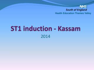 ST1 induction -  Kassam