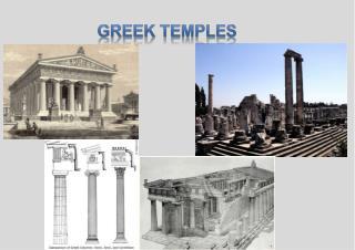 GREEK TEMPLES