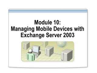 Module 10:  Managing Mobile Devices with Exchange Server 2003