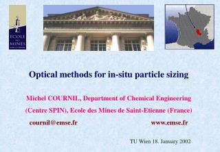 Optical methods for in-situ particle sizing