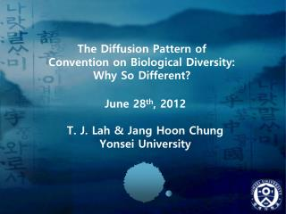 The Diffusion Pattern of Convention on Biological Diversity: Why So Different?