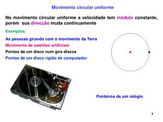 Movimento de sat�lites artificiais