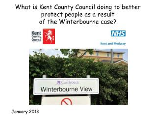 What is Kent County Council doing to better protect people as a result of the Winterbourne case?