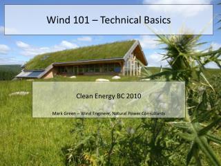 Wind 101 – Technical Basics