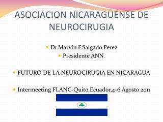 ASOCIACION NICARAGUENSE DE NEUROCIRUGIA
