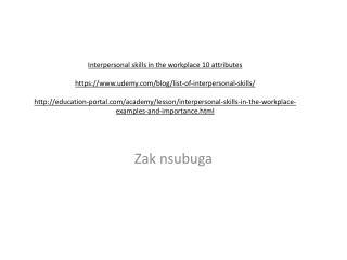 Zak nsubuga