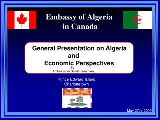 Embassy of Algeria  in Canada
