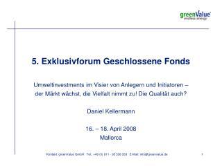 greenValue Leistungen im Überblick
