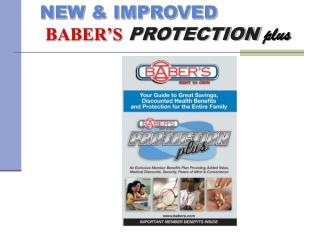 NEW & IMPROVED BABER'S PROTECTION plus