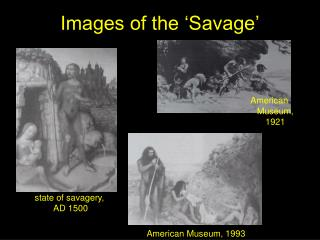 Images of the �Savage�