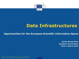 Data Infrastructures