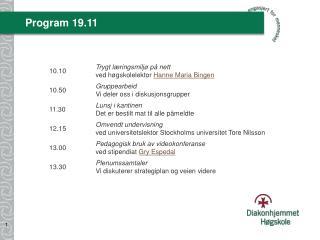 Program 19.11