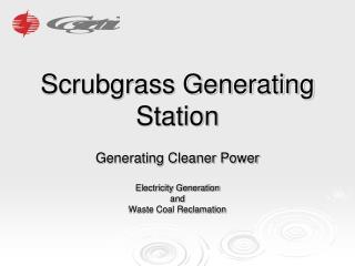 Scrubgrass Generating Station