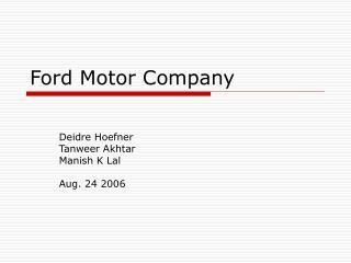 ford motor company supply chain strategy teri takai recommendations Buku tamu ini adalah ajang untuk mengungkapkan semua kesan, pesan dan uneg-uneg sampaikan apa yang ada di benak anda, uneg-uneg anda, kesan dan.