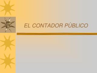 EL CONTADOR PÙBLICO