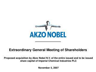 Extraordinary General Meeting of Shareholders