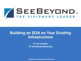 Building an SOA on Your Existing Infrastructure