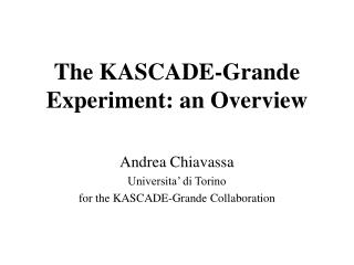 The KASCADE-Grande Experiment: an Overview