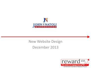 New Website Design December 2013