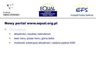 Strona główna :  aktualności, rezultaty, kalendarium lewe menu, prawe menu, górna belka