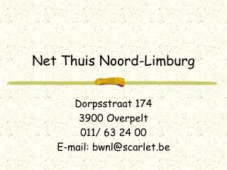 Net Thuis Noord-Limburg