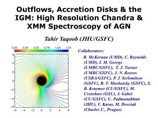 Outflows, Accretion Disks  the IGM: High Resolution Chandra  XMM Spectroscopy of AGN  Tahir Yaqoob JHU