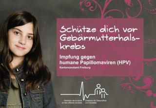 Schutz vor Gebärmutterhalskrebs Impfung gegen humane Papillomaviren (HPV)